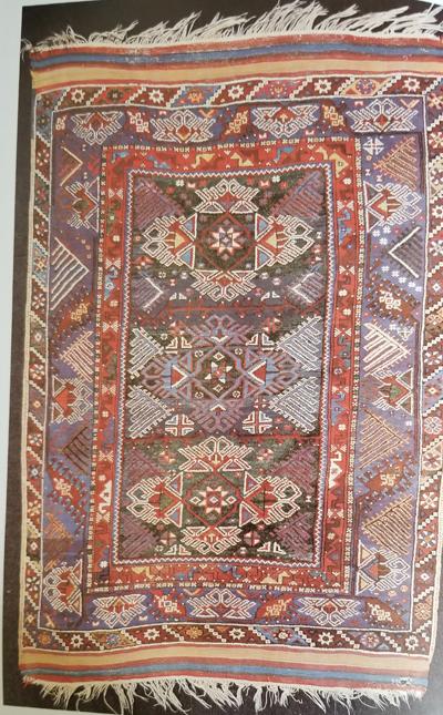 Turkish Rug-Dolshemalti-19th Century