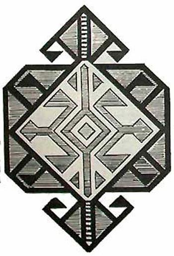 Ali-Akbar-Khani Hexagon Lattice Baluchi Motif