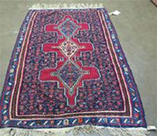 Antique Persian Senneh Kilim