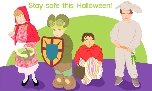 Be Safe This Halloween