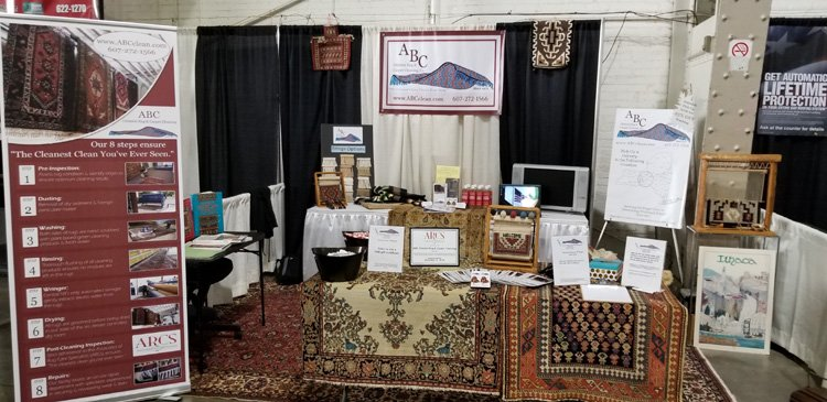 Our booth at the Syracuse Home & Garden Show!!