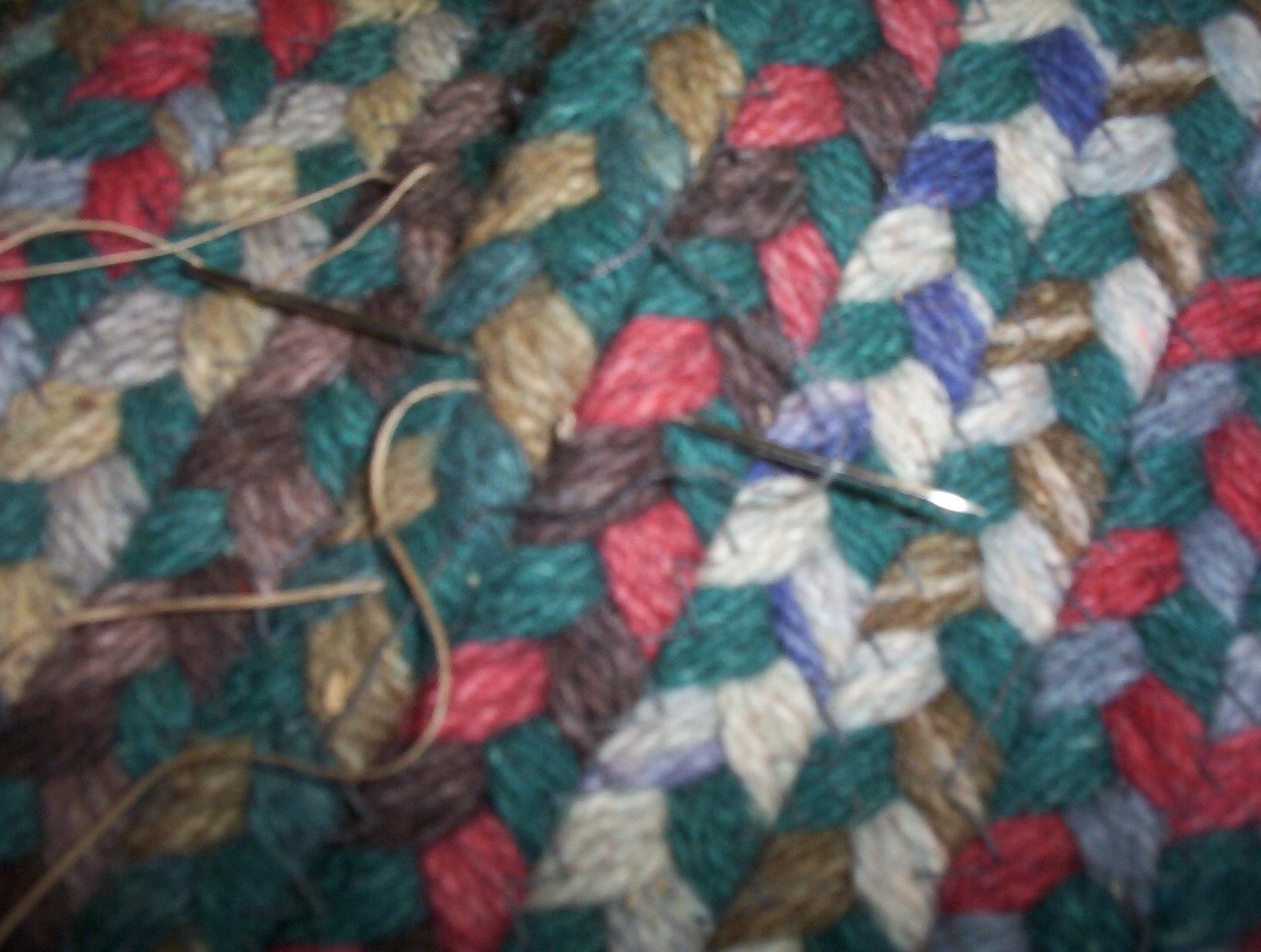 Braided Rug Repair