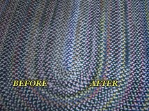 Braided Rug-Before & After Cleaning