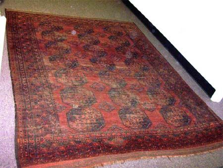 Chemically Washed Rug