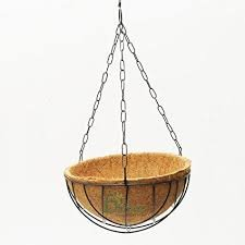 Hanging Planter with Coir Liner