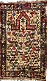 Derbend (Caucasus) Prayer Rug