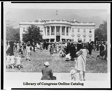 White House Easter Egg Roll - 1944