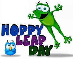 Frog-Symbol of Leap Day