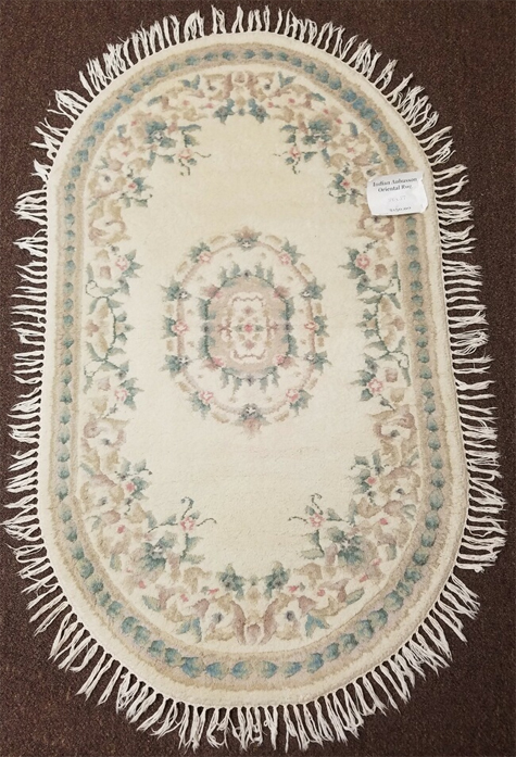 India Aubusson Oriental Rug for Sale