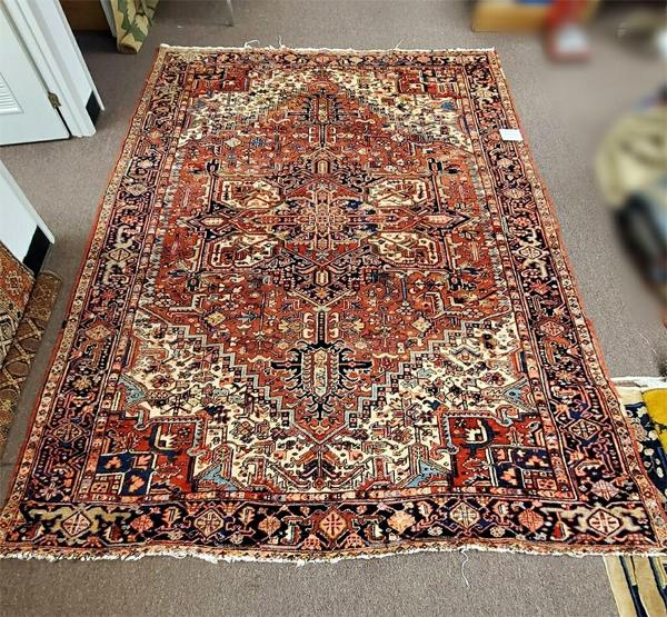 Iranian Heriz Oriental Rug for Sale