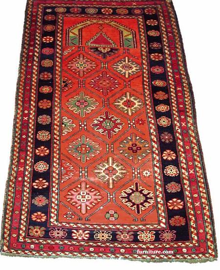 Karabaugh (Caucasus) Prayer Rug