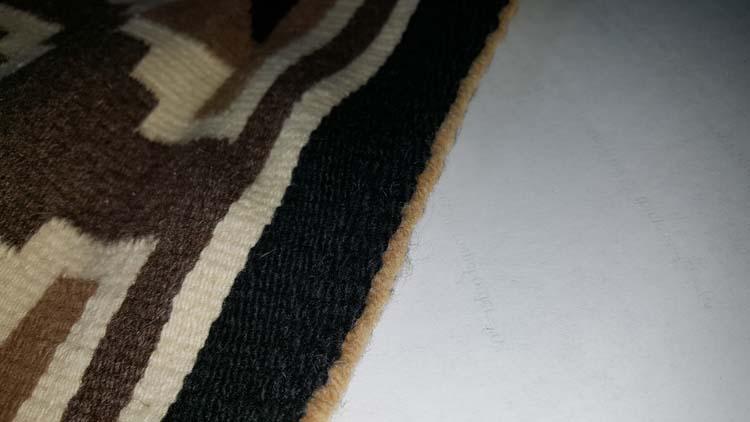 Navajo sewn ends