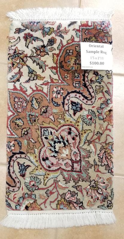 Oriental Sample Rug for Sale
