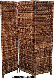 Seagrass Panel Screen