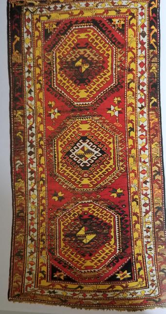 Turkish Rug-Kars-19th Century