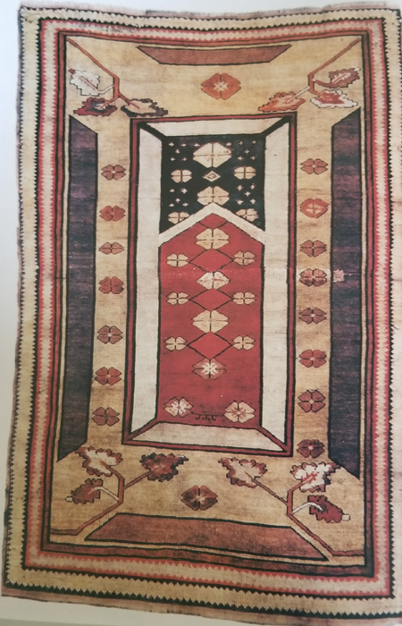 Turkish Rug-Milas-19th Century