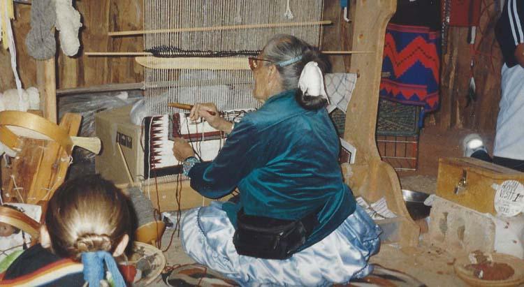 Hogan Weaving